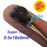 Module minuscule superbe d'appareil-photo d'OEM 2g 520tvl 0.008lux mini Fpv à 9.5X18X9mm