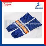 Calcetines del hockey sobre hielo de los hombres de la sublimación de la ropa del diseño de la manera de Healong