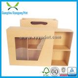 Kundenspezifischer gewölbter Papierkarton-verpackengeschenk-Kasten-Großverkauf