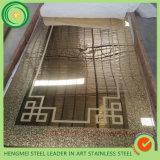 O SUS 201 316 chapa de aço inoxidável decorativa da porta de 304 elevadores para o espelho 8k gravou a chapa de aço inoxidável