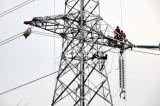 Передающая линия башня стали углерода утюга в Китае