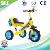 Triciclo de niños suave del asiento de la PU del nuevo diseño con la botella de agua