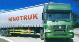 Cabeça do caminhão do trator do tipo 4X2 de Sinotruk