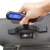 50kg重量の携帯用電子旅行ハングの荷物のスケール