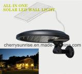 Indicatori luminosi solari fissati al muro esterni alimentati solari solari del nuovo prodotto del giardino della lampada da vendere