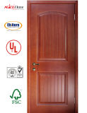 Porte en bois intérieure de la qualité 2016, porte de chambre à coucher, porte en bois solide de sûreté