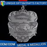 Medaglioni su ordinazione di sport di colore del metallo della medaglia del premio Nobel