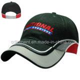 Konstruierte Baumwoltwill-Stickerei-Sport-Baseball-Golf-Schutzkappe (TMB6234)
