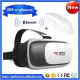 Vidros da realidade virtual de Vr da versão da caixa de Vr do cartão de Google + rato sem fio esperto de Bluetooth/Gamepad de controle remoto