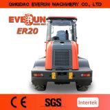 Everun 2トンの速い連結器が付いているディーゼル油圧車輪のローダー