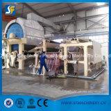 La perte de pâte de bois de Vierge réutilisent le roulis de papier de papier de soie de soie de toilette faisant la machine de matériel