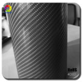 Real superbe 4D Carbon Fiber Vinyl Car Wrap Film