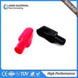 Do protetor negativo positivo da braçadeira da bateria de carro coberta de borracha