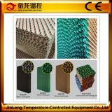 Cortina de aire resistente a la corrosión de la pista de la refrigeración por evaporación del invernadero de Jinlong