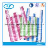 高品質の大きいプラスチックTシャツは印刷されるを用いるショッピング・バッグを運ぶ
