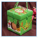 Het milieuvriendelijke Draagbare Decoratieve Vakje van de Gift van het Document van de Verpakking van de Appel voor Kerstavond
