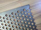 Maglia perforati rotondi/metallo/strato rettangolari/fiore Premium/del foglio figura/