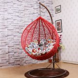 Hotel Engineering Swing Chair & Swing Rattan Furniture, Rattan Basket (D011B)