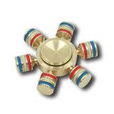 Kreative sechs Handspinner EDC-Spielwaren des Winkel-Hexagon-Metallss für Autismus-und Adhd Finger-Spinner verringertes Druck-Spielzeug
