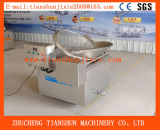 Machine faisante frire semi-automatique de chauffage électrique pour des casseurs de crevette rose