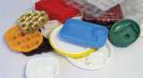 Еда пластмасового контейнера делая машину