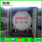 China-Tri Welle 45000 Liter Heizöl-Tanker-Schlussteil-