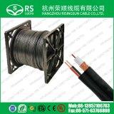 Кабель Rg59 CCTV с кабелем шнура питания 2*0.75mm2 для камеры