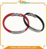 Wristband di vendita caldo del silicone stampato abitudine