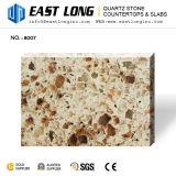 花こう岩カラーKitchentopsのための人工的な水晶石の平板か3200*1600mmの虚栄心の上