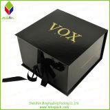 Personalizado plegable en forma de libro caja de embalaje de regalo