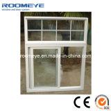 Color caliente del blanco de la ventana de desplazamiento del PVC del vidrio Tempered de la venta