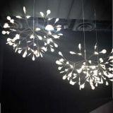 Iluminación moderna de la lámpara pendiente de la manera LED del nuevo diseño Dia980 en cortina de acrílico