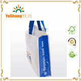 China PP saco tecido, saco de embalagem de plástico, Hand Carry Bag