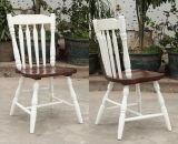 固体木の食事の椅子のWindsor椅子の屋外の椅子(M-X2049)