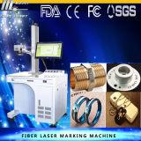 Graveur de laser de fibre sur l'acier de cuivre d'Alumnium des prix de machine de marque de machine d'inscription de laser en métal de fibre des prix de machine en métal