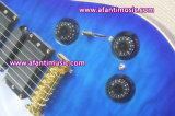 Fotorezeptoren reden an,/Mahagonikarosserie u. Stutzen,/Afanti elektrische Gitarre (APR-088)