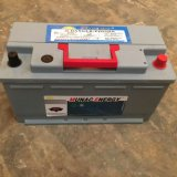 灰色電池の赤いハンドル新しいデザインDIN88mf手入れ不要のカー・バッテリー