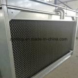 Tour de refroidissement à circuit fermé galvanisée par IMMERSION chaude d'écoulement transversal
