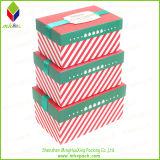 Подгонянная коробка подарка упаковки ботинка типа рождества