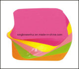 卸し売り昇進のカスタム敏感な印刷の螺線形の粘着性があるノートのメモの立方体
