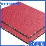 Алюминиевая составная панель ACP, панель деревянного зерна алюминиевая составная