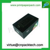Коробка твердой изготовленный на заказ камеры упаковывая бумажная с печатью логоса