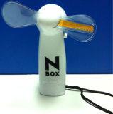 Изготовленный на заказ миниые напечатанные вентиляторы текста проблескивать СИД с логосом (3509)