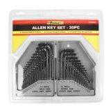 комплект Hex ключа ключа Ален ключа cr-V 30PCS стальной