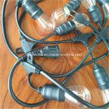 """E12 E26 de Kabel van UL spt-1 met 12 """" of 30 """" Contactdozen"""