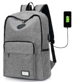 Модный оптовый Backpack школы холстины Softback