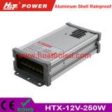 bloc d'alimentation de 12V20A DEL/lampe/bande flexible IP65 antipluie