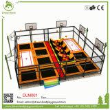 Engranzamento interno profissional grande dos PP do equipamento do parque do Trampoline de Yongjia