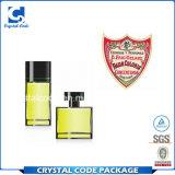 Collant d'étiquette de parfum d'impression de beauté de multicolores