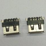 Conetor do MERGULHO do USB 2.0 a/F 90 Dgree
